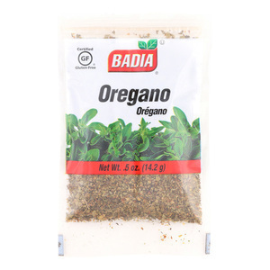 Badia Spices Whole Oregano - Case of 12 - 0.5 oz.