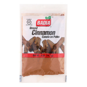 Badia Spices Cinnamon Powder - Case of 12 - 0.5 oz.