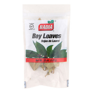 Badia Spices Whole Bay Leaves - Case of 12 - 0.2 oz.