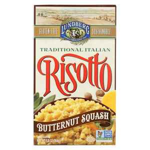 Lundberg Family Farms Butternut Squash Risotto - Case of 6 - 5.8 oz.