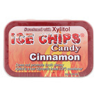 Ice Chips Candy Cinnamon Candy - Xylitol - Case of 6 - 1.76 oz.