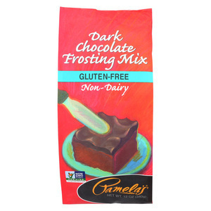 Pamela's Products Frosting Mix - Dark Chocolate - Case of 6 - 12 oz.