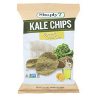 Simply 7 Kale Chips - Lemon and Olive Oil - Case of 12 - 3.5 oz.