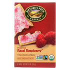 Nature's Path Organic Frosted Toaster Pastries - Razzi Raspberry - Case of 12 - 11 oz.