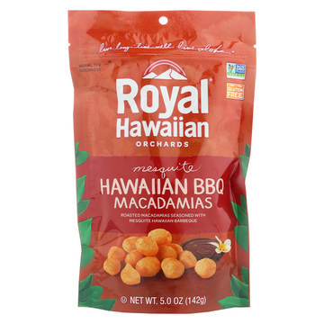 Royal Hawaiian Orchards Macadamias - Hawaiian BBQ - Case of 6 - 5 oz.