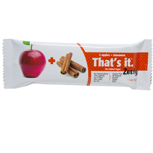 Apple + Cinnamon Zesty Fruit Bar