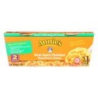 Annie's Homegrown Real Aged Cheddar Macaroni and Cheese Microcaps - Case of 6 - 4.02 oz.