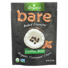 Bare Fruit Organic Coconut Chips - Coffee Bean - Case of 12 - 2.8 oz
