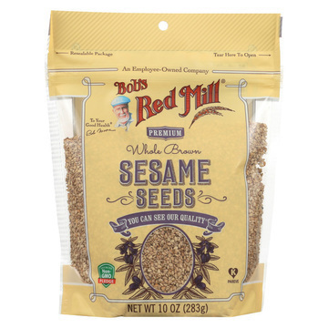 Bob's Red Mill - Seeds - Sesame - Case of 6 - 10 oz