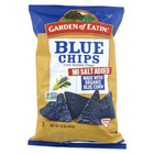 Garden Of Eatin' Blue Chips - Unsalted - Case of 12 - 16 oz