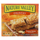 Nature Valley Gran Bar - Crunch - Pnut Buttr - Case of 12 - 8.94 oz