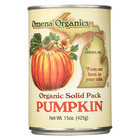 Omena Organics Pumpkin - Organic - Solid Pack - Case of 12 - 15 oz