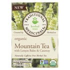 Traditional Medicinals Herb Tea - Organic - Mountain Tea - Case of 6 - 16 BAG