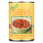 Amy's Organic Chunky Vegetable Soup - Case of 12 - 14.3 oz