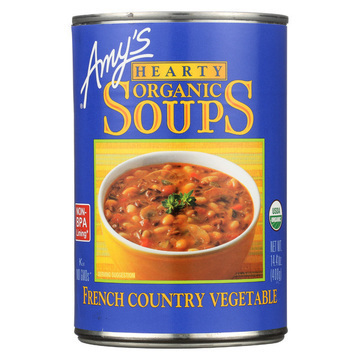 Amy's - Organic Soup - Vegetarian Hearty French Country - Case of 12 - 14.4 oz