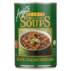 Amy's - Organic Soup - Vegetarian Hearty Italian - Case of 12 - 14 oz