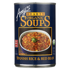 Amy's - Organic Spanish Rice & Red Bean Soup - Case of 12 - 14.7 oz