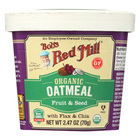 Bob's Red Mill - Oatmeal Cup - Organic Fruit and Seed - Gluten Free - Case of 12 - 2.47 oz