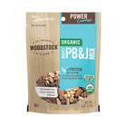 Woodstock Organic Mighty PB&J Snack Mix - Case of 8 - 6 oz.