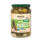 Woodstock - Organic Kosher Dill Pickles - Whole - Case of 6 - 24 oz.