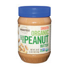 Woodstock Organic Easy Spread Peanut Butter - Smooth - Case of 12 - 18 oz.