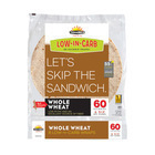 "Tumaros Low-In-Carb Wraps - Whole Wheat - 8"" - 8 ct."