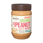 Woodstock Organic Easy Spread Peanut Butter - Crunchy - Unsalted - 18 oz