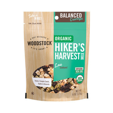 Woodstock - Organic Hikers Harvest Snack Mix - 6 oz.