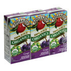 Apple and Eve Organics 100 Percent Juice - Grape - Case of 9 - 200 ml