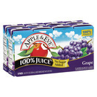 Apple and Eve 100 Percent Juice - Grape - Case of 5 - 200 ml