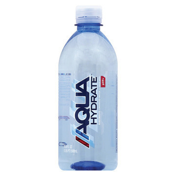 Aqua Hydrate Purified Water - Case of 24 - 16.9 Fl oz.