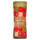 Argo Tea Iced Green Tea - Strawberry - Case of 12 - 13.5 Fl oz.