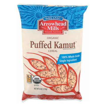 Arrowhead Mills - Organic Puffed Kamut Cereal - Case of 12 - 6 oz.