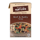 Back To Nature Soup - Beef and Barley - Case of 6 - 17.4 oz.