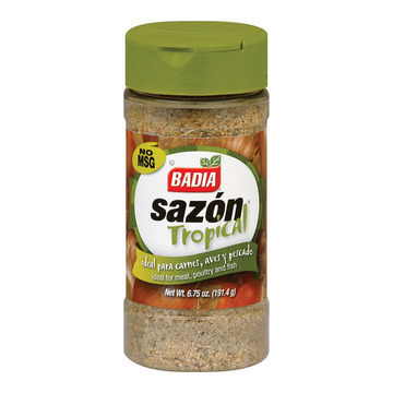 Badia Spices Tropical Seasonings - Case of 12 - 6.75 oz.