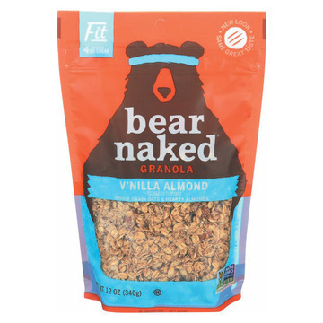 Bear Naked Granola - Vanilla Almond - Case of 6 - 12 oz.