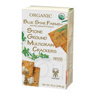Partners Blue Star Farms Snack Crackers - Organic Whole Wheat - Case of 6 - 5 oz.