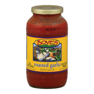 Bove's of Vermont - Pasta Sauce - Roasted Garlic - Case of 6 - 24 Fl oz.