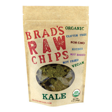 Brad's Plant Based - Raw Chips - Kale - Case of 12 - 3 oz.