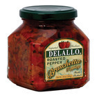 Delallo Roasted Pepper Bruschetta - Case of 6 - 10 oz.