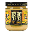 Desert Pepper Trading - Medium Hot White Bean Dip - Case of 6 - 16 oz.