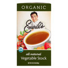 Emeril Organic Vegetable Stock - Case of 6 - 32 Fl oz.