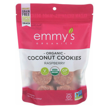 Emmy's Macaroons - Raspberry - Case of 8 - 6 oz.