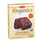 European Gourmet Bakery Organic Frosted Brownie Mix - Frosted - Case of 8 - 16.5 oz.