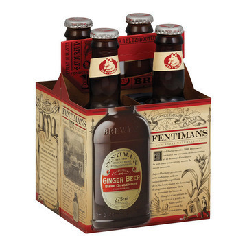 Fentimans North America Ginger Beer - Beer - Case of 6 - 9.3 FL oz.