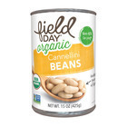 Field Day Organic Cannellini Beans - Cannellini Beans - Case of 12 - 15 oz.