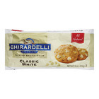 Ghirardelli Classic White Baking Chips - Case of 12 - 11 oz.