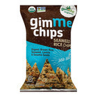 Gimme Organic Chips - Sea Salt - Case of 12 - 4 oz.