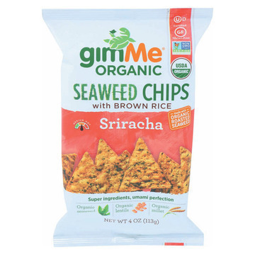 Gimme Organic Chips - Sirach - Case of 12 - 4 oz.