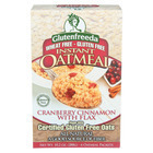 Gluten Freeda Instant Oatmeal - Cranberry Cinnamon - Case of 8 - 11.05 oz.